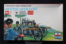 YB115 ESCI 1/72 maquette figurine 233 British Artillery Waterloo 1815 NB