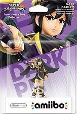 Nintendo Wii U 3DS Super Smash Bros No 39 Dark Pit Collectible Figure Amiibo New