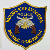 NRA Police Regional Championship National Rifle Association Patch (A2-B)
