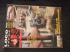 **fe Loco Revue n°626 portique de manutention en H0 / test 1-150 Z en N