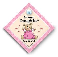 Petite Fille À Bord Voiture Signe, Petit-Enfant à bord, Bébé À Bord Voiture Signe,
