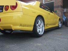 FRP Attachment Fit For 99-02 Nissan R34 GTR Nismo Rear Bumper Corner Spat