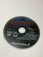 State of Emergency 2 (Sony PlayStation 2, 2006)- Disc Only