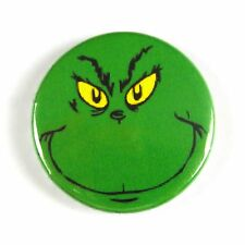 The Grinch Who Stole Christmas – Dr Suess - Button Badge - 25mm 1 inch - Xmas