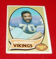 1970 Football Jim Marshall Topps card # 213  vg/ex