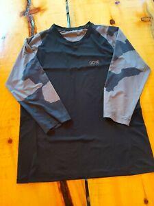 Mens Gorewear C5 3/4 trail jersey camo size medium