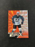 1997-98 PINNACLE EPIX PAUL KARIYA RARE SEASON ORANGE #E-19