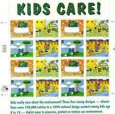 Scott #2951/4 .32 Cent . Kids Care.,Sheet of 16