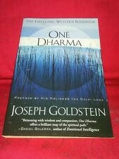One Dharma: Joseph Goldstein-2003 Pb Buddhism/Spirituality/Rel igious Studies