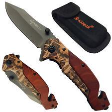Taschenmesser Rettungsmesser Rescue Einhandmesser Messer Knife Notfallmesser