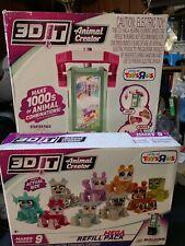 New 3D Animal Creator Molding Studio & Mega Refill Pack A ToysRus Toy