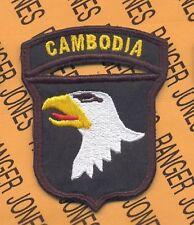 """101st AIRBORNE Division """"CAMBODIA"""" patch"""