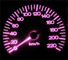 Daewoo Lanos Pink LED  Dash Instrument Cluster Light Conversion Kit
