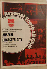 1971 FA CUP Arsenal v Leicester City (6th Round Re-play)