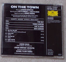 "CD AUDIO MUSIQUE/ LEONARD BERNSTEIN ""ON THE TOWN"" CDM PROMO 437 814-2 / 4T 1993"