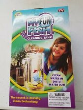 Self Cleaning Aquarium My Fun FISH TANK Complete Kit with Light-Small Fish Tank