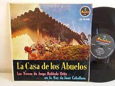 JORGE ROBLEDO ORTIZ / JUAN BABALLERO La casa de los Abuelos LP 12-290 COLOMBIE