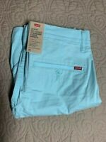 Levi's Standard Taper XX Chino Short Clearwater Stretch Twill Men's Size 30 NWTs