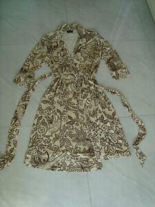 Rena Lange Wickelkleid, Kleid Gr. 36 -38 Top Zustand
