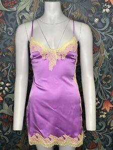 agent provocateur Lucie Slip Purple / Yellow Size AP4/ UK12
