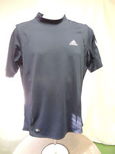 Mens Adidas Clima Cool Dark Blue Athletic Top Size Xxl