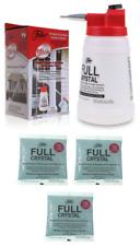Fuller Brush Full Crystal Window Cleaner Bottle 12 oz Powder As Seen On TV NEW🔥