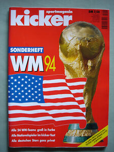 Kicker Sportmagazin Sonderheft WM 94 USA