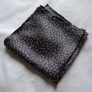Liberty of London Splinters silk fabric pocket square