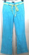 Ralph Lauren Girls Blue 100% Cotton Trousers W26 L26