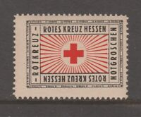 Germany Cinderella revenue Fiscal stamp 5-14 mint mnh gum Red Cross