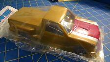 DRS 1/24 Lexan Chevy Stepside P/U W/TopHat Custom Painted Gold #519 Mid-America