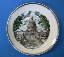 The Capitol Washington Dc Souvenir Collector Plate insurrection riot impeachment