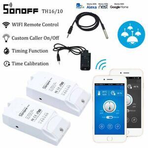 Android APP Temperature Humidity Sensor Smart Switch Wifi Remote Sonoff TH16