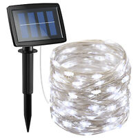 15m 150 LED Waterproof Solar Fairy String Lights Wedding Party Decor Outdoor