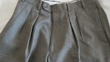Robert Amerigo Wool Pleated Dress Pants 33 x L 31  EEUC MINT