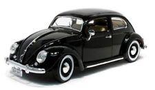1:18 Bburago 1955 Volkswagen VW Coccinelle Beetle Noir - Noir Lmtd.Ed.1000Stück