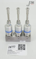 24777 FUJIKIN DIAPHRAGM BLOCK VALVES, TYPE N.O 0.5~0.6MPA 565988