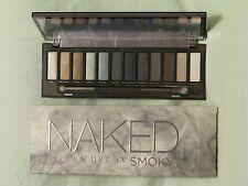 Urban Decay 'Naked Smoky' Eye Shadow Palette NIB 12 Shades & Applicator Brush