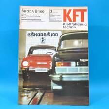 DDR KfT Kraftfahrzeugtechnik 3/1970 DKW RT 159 Skoda S 100 Hercules K 50 RX 40