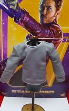 Genuine Hot Toys MMS255 STAR LORD action figure Guardians Galaxy 1/6 shirt only!