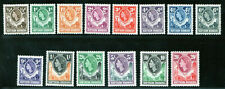1953 Northern Rhodesia SC 61-74 MNH Choice Set of 14 QEII Queen Elizabeth XF
