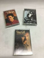 Lot of 3 Vince Gill best of, Pocket full of Gold Tapes