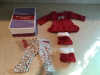 American Girl Playful Polar Bear Pajamas PJs Truly Me AG with box