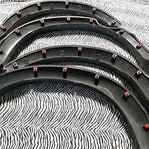 26 Fender Wheel Flare Clips Red & Blue Combo Kit  Toyota Tacoma Tundra