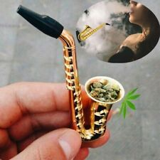 Small Smoking Tobacco Metal Pipes Portable Herb Water Cigarette Accessories