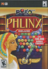 PHLINX DELUXE Pogo EA Egyptian Puzzle PC Game NEW inBOX