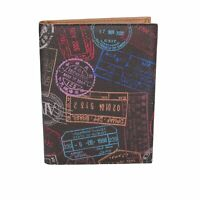 porta passaporto uomo donna ALV by ALVIERO MARTINI marrone pelle BN161-S