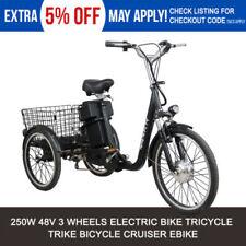 Steel Frame Unisex Adults Electric Bike Bikes
