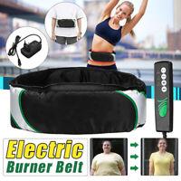 Electric Massage Belt Wrap Slimming Fat Burn Weight Loss Body Shaper Machin