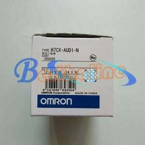 ONE NEW OMRON Counter H7CX-AUD1-N 12-24VDC